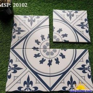 Gạch bông hình vuông 20x20cm