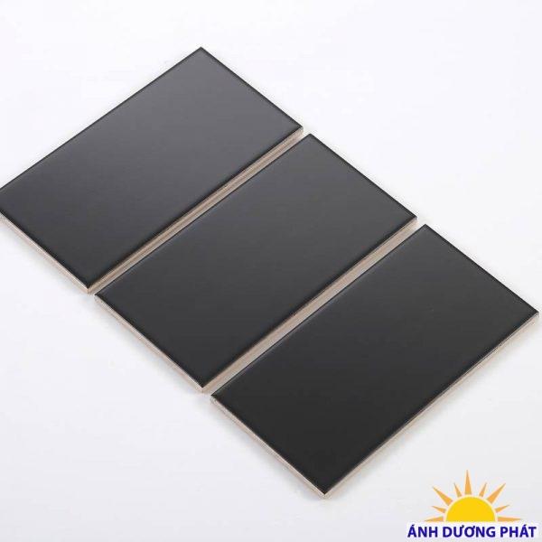 Gạch thẻ ốp tường màu đen mờ phẳng (Sao chép)