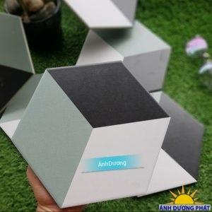 Gạch trang trí lục giác 3D hình lập phương
