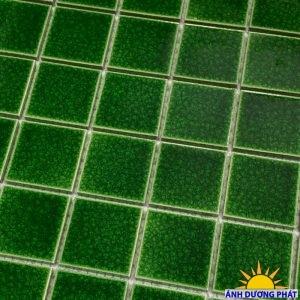 Gạch mosaic trang trí màu xanh lá (300x300 mm)
