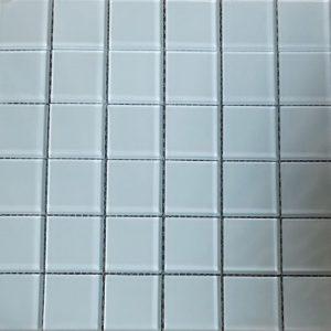 Gạch ốp lát Mosaic gốm màu trắng