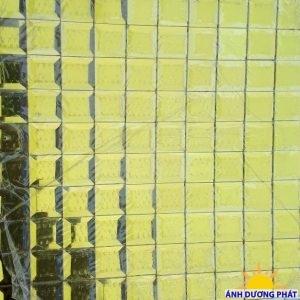 Gạch mosaic trang trí màu vàng