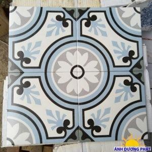 gạch bông porcelain 200x200 bông đơn xắc