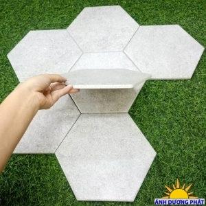 Gạch lục giác ốp tường giả đá