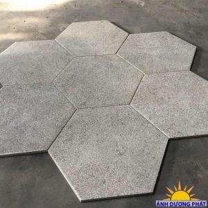 lục giác đá , kim loại